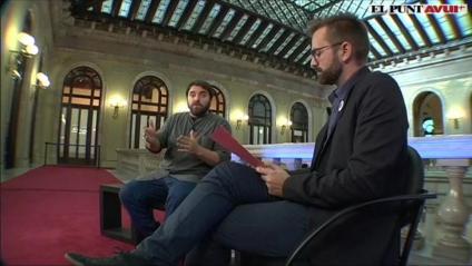 Entrevista al diputat del PSC, Ferran Pedret