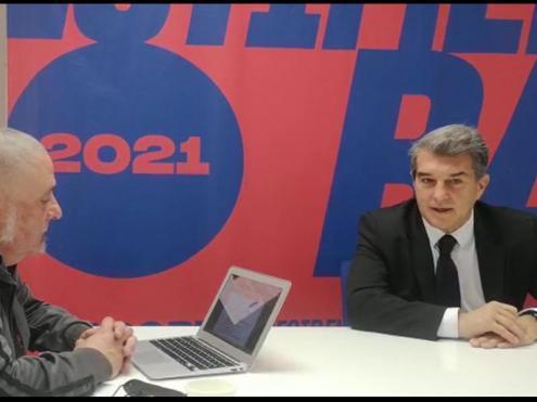 Jan Laporta amb Lu Martín