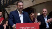 El secretari d'Organització del PSOE, José Luis Ábalos, aquest diumenge a Palma