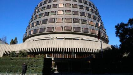 Imatge d'arxiu de la seu del Tribunal Constitucional, a Madrid