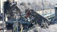 Vista de l'escenari de l'accident, a Ankara