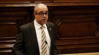 El conseller d'Interior, Miquel Buch, aquest dijous al Parlament