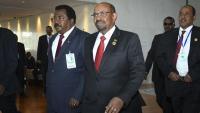 El president del Sudan, Omar al Bashir (c), en una imatge recent