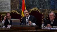 El magistrat Manuel Marchena, presidint la sala del Tribunal Suprem