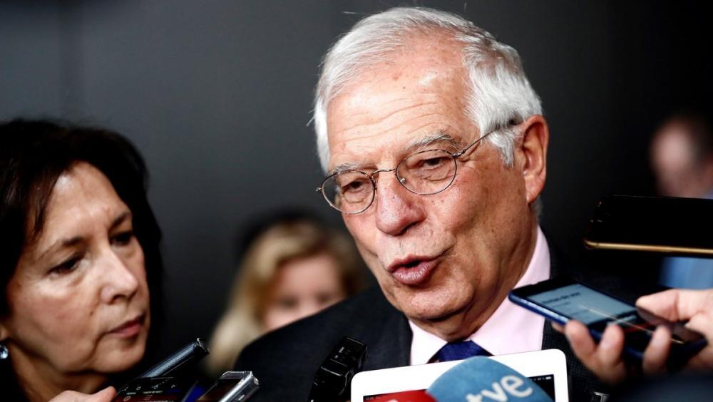 El ministre espanyol d'Exteriors, Josep Borrell, aquest dimarts a Buenos Aires
