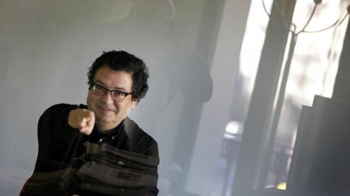 El periodista, escriptor i poeta David Castillo