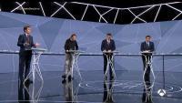 Captura de pantalla d'un moment del debat a quatre d'Atresmedia, aquest dimarts a la nit