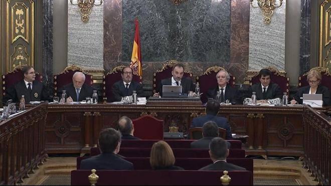 Imatge general del tribunal del judici de l'1-O