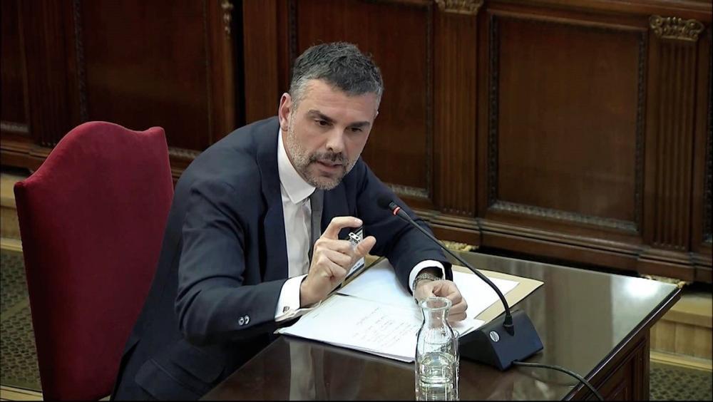 L'exconseller Santi Vila, al judici de l'1-O