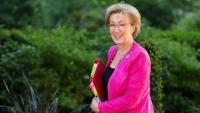 La fins ara líder 'tory' al Parlament, Andrea Leadsom, arribant dimarts a una reunió de l'executiu