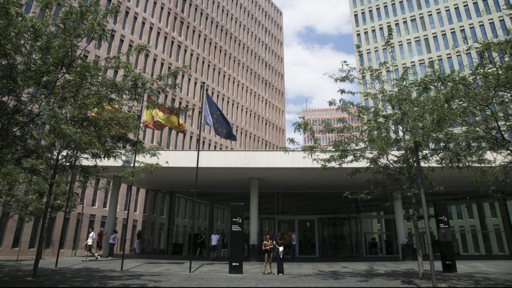 Vista de la Ciutat de la Justícia