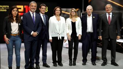 Els alcaldables per Barcelona, en el debat de TV3