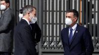 El rei Felip VI i el president del govern espanyol, Pedro Sánchez, en una imatge recent