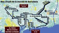 El nou circuit de la marató