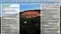 Urbanisme atura projectes en 1.120 ha de la Costa Brava