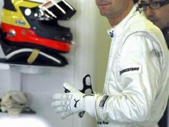 Pedro Martínez de la Rosa, pilot de l'equip BMW Sauber    EFE
