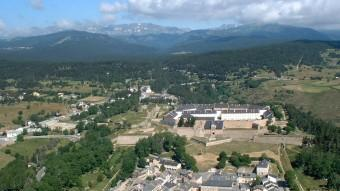 Centre d'entrenament de comandos de l'exèrcit francès a Montlluís ARXIU