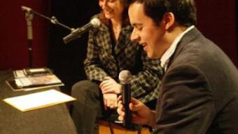 Adrià Targa, el gener passat, al Teatre El Magatzem de Tarragona.  J.F