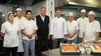 Equip de cuina de Miami Can Pons i Joan Pons.  F. LL