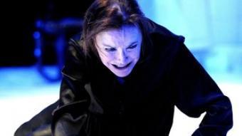 Núria Espert (Bernarda Alba) a l'obra.  DAVID RUANO