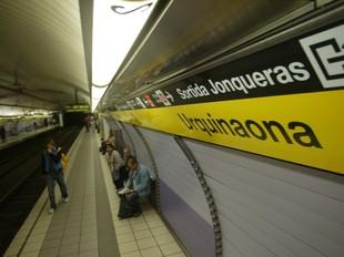 L'apunyalament va tenir lloc a l'estació d'Urquinaona.  A.P