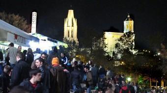 Una multitud ha passat aquests dies per les barraques de la Copa de Girona.  LLUÍS SERRAT