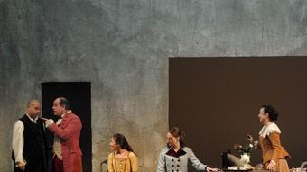 Una imatge de la peça que el Piccolo Teatro di Milano va dur al Municipal de Girona. /  Foto:FABIO ESPOSITO