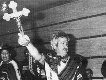 Miquel Fonolleras, un dels mexicans que va irrompre en el ple de la moció del 1989. /  M. RUIZ