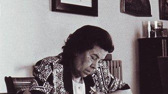 L'escriptora Maria Àngels Anglada, en una imatge d'arxiu.  EL PUNT