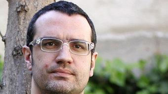El novel·lista i poeta Pere Antoni Pons. FRANCESC MELCION