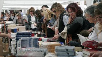 Les taules de llibres seran de nou el gran reclam de la Diada de Sant Jordi CRISTINA FORÉS