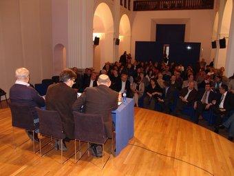 La presentació del manifest es va fer a la Casa de Cultura de Girona.  O.M