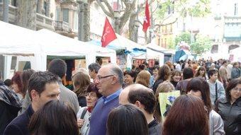 Una imatge de la Rambla de Figueres, ahir a mitja tarda.  Foto:J.P