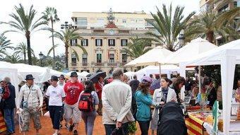 Parades del passeig Jacint Verdaguer de Lloret