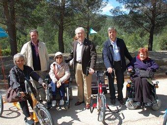 El tram també serà accessible a les persones que vagin amb cadira de rodes.  EL PUNT