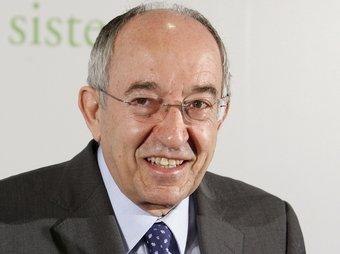 Miguel Ángel Fernández Ordóñez és governador del Banc d'Espanya.  Foto:ARXIU