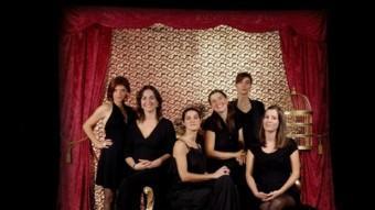 Imatge del grup gironí DE CANT 'A CAPPELLA' LES SIXTERS EL PUNT