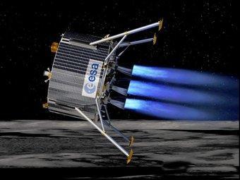 Simulació del vehicle automàtic que l'ESA vol fer arribar al pol sud de la Lluna l'any 2018 ESA