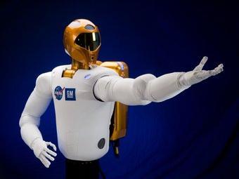 Últim model del Robonaut 2, de la NASA i GM NASA