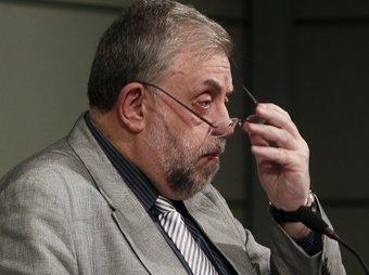 Octavio Granado, parlant dilluns de l'afiliació a la SS.  Foto:EFE