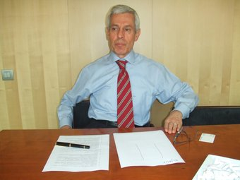 Emilio Gironella, impulsor del llibre blanc sobre les normes comptables de les pimes.  J.P