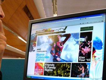 Desigual va estrenar la botiga virtual l'1 'octubre.  Foto:JORDI SOLER