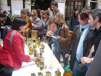 Fira de l'1 de Novembre, de Tots Sants, a Girona. Trobada d'artesans.  Foto:ARXIU/ALBERT VILAR