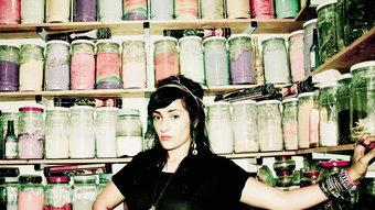 Hindi Zahra, en una imatge promocional del seu disc 'Handmade'. WAM