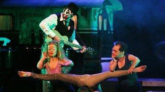 El 'Freakshow' dels Tiger Lillies, un dels espectacles remarcables d'aquesta edició de Temporada Alta. CÈLIA ATSET