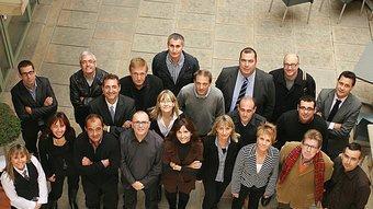 Els directors dels departaments de les àrees de gestió i comercial, MANEL LLADÓ