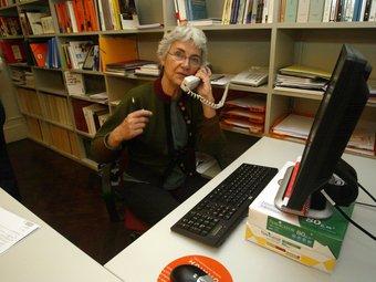 Muriel Casals.  Foto:JUANMARAMOS
