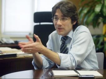 Nova generació. Josep Maria Martorell i Rodon (Reus, 1975) és llicenciat en física per la UB i doctor en enginyeria informàtica per la URL. Militant d'UDC des del 1993, va ser cap de gabinet dels departaments de Governació (2001-2002) i de Justícia (2003) FOTO: QUIM PUIG