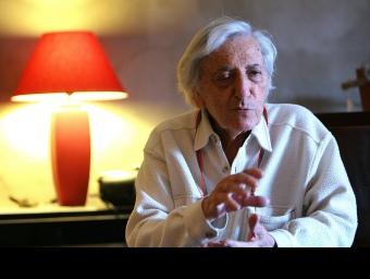 Jordi Barre, fotografia en una entrevista del desembre del 2009. MANEL LLADÓ