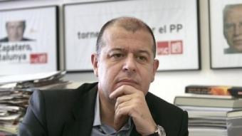 José Zaragoza, secretari d'organització del PSC JOSEP LOSADA / ARXIU